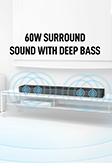 Snokor Bluetooth Soundbar - 8