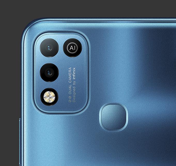 Smart 5 Back camera - Aegean Blue