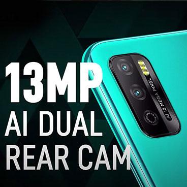 Infinix Mobiles - 13MP AI Dual Rear Cam
