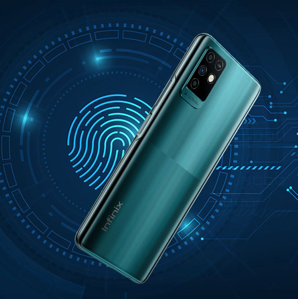 Infinix Note 10 Fingerprint Sensor