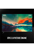 Infinix X1 Smart Android TV - Epic 2.0 Picture engine