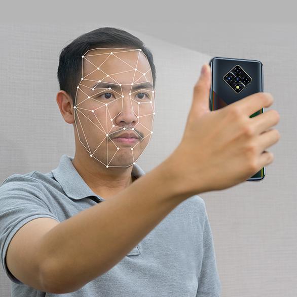 Infinix Zero 8i - Face Unlock