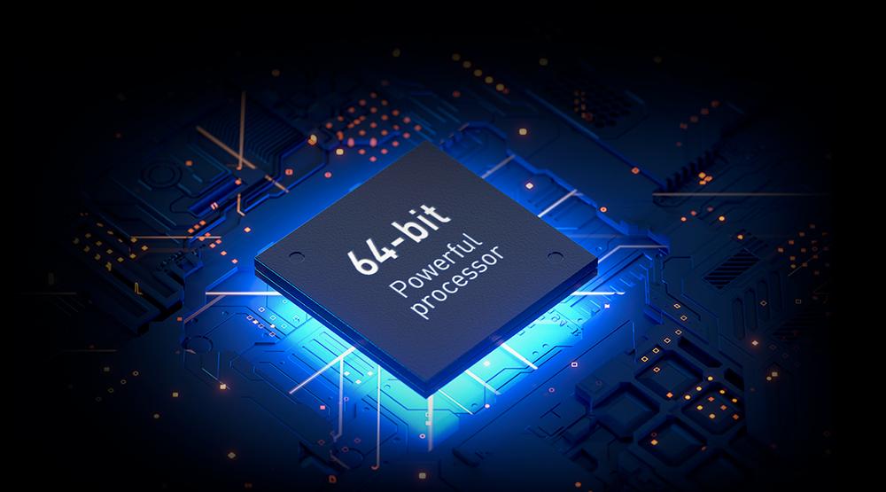 POWERFUL MEDIATEK PROCESSOR WITH 1GB+8GB MEMORY