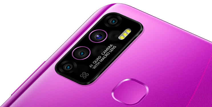 13 MP AI quad camera