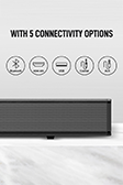 Snokor Bluetooth Soundbar - 6
