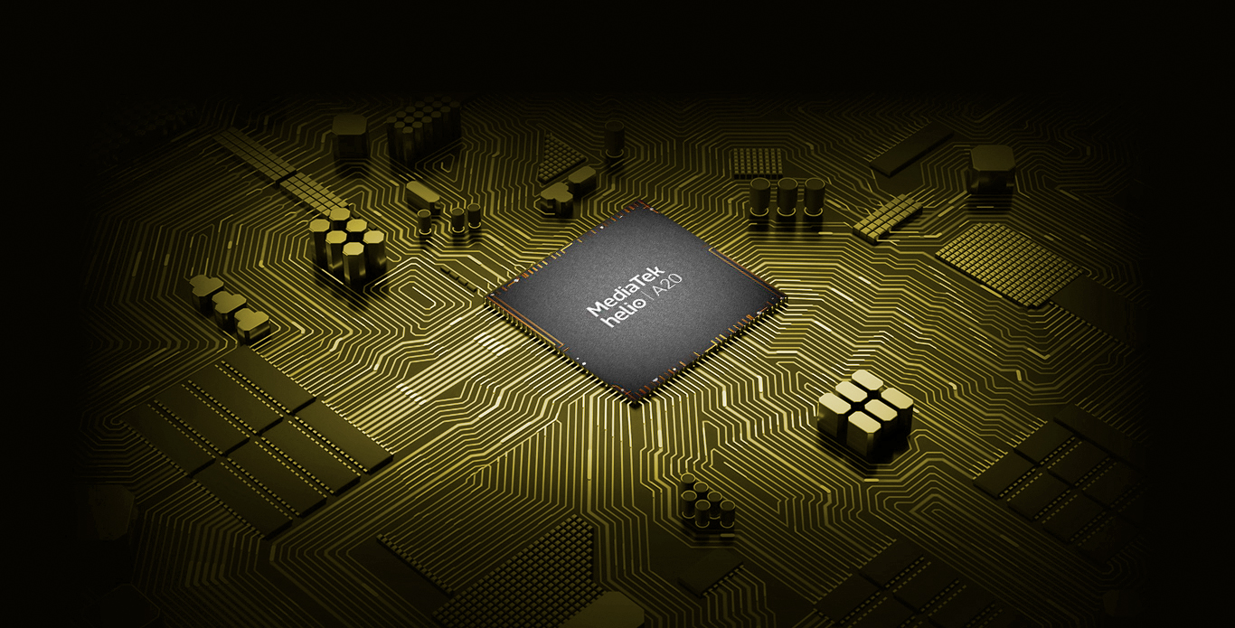 MediaTek HELIO A20 QUAD CORE PROCESSOR