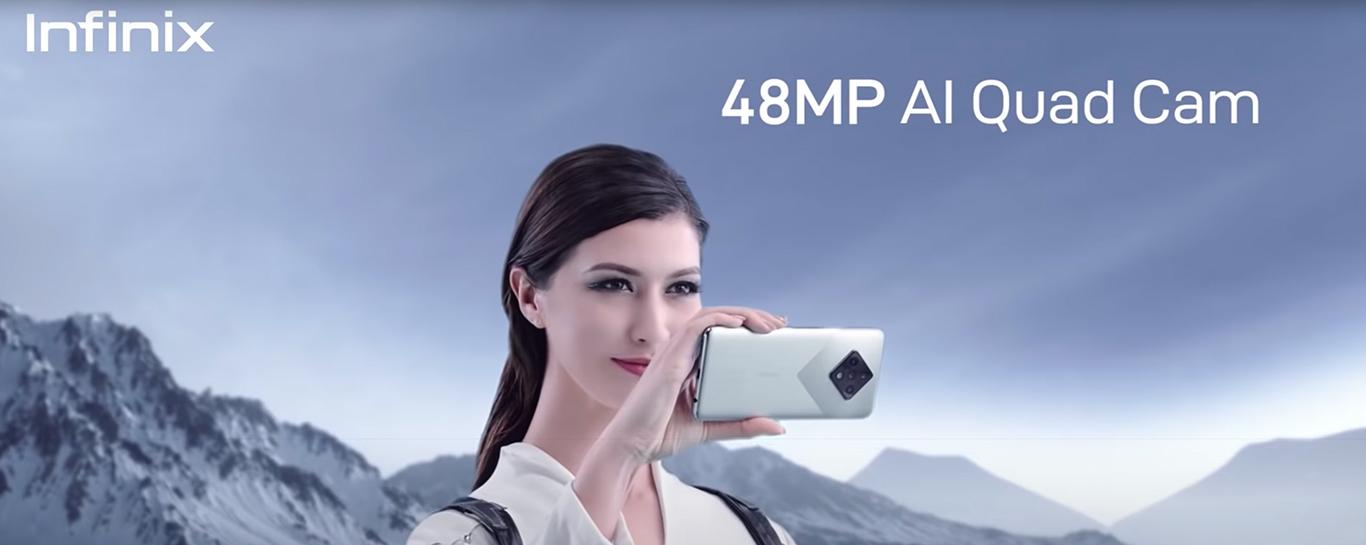 Infinix zero 8i - 48MP AI quad cam