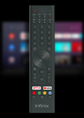 Infinix X1 Smart Android TV remote control