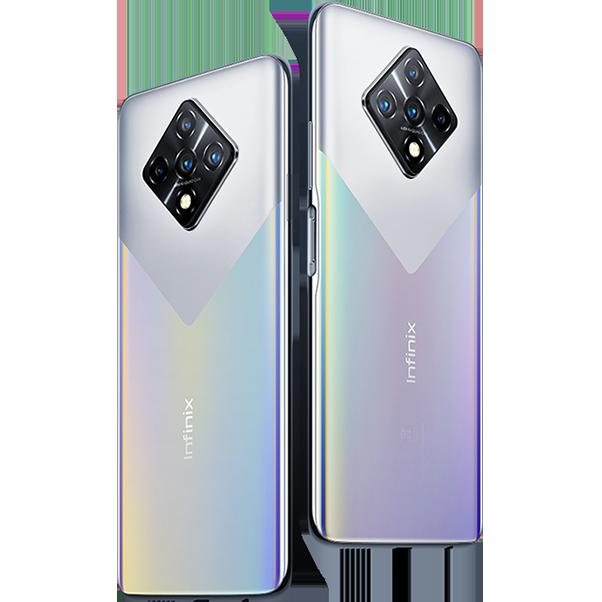 Infinix Zero 8i - Rainbow Aurora